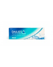 Dailies Aqua Comfort Plus wszystkie moce