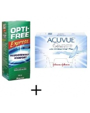 Acuvue Oasys Hydraclear 6szt. plus Opti Free 120ml