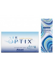 Air Optix Aqua z płynem Horien 120ml